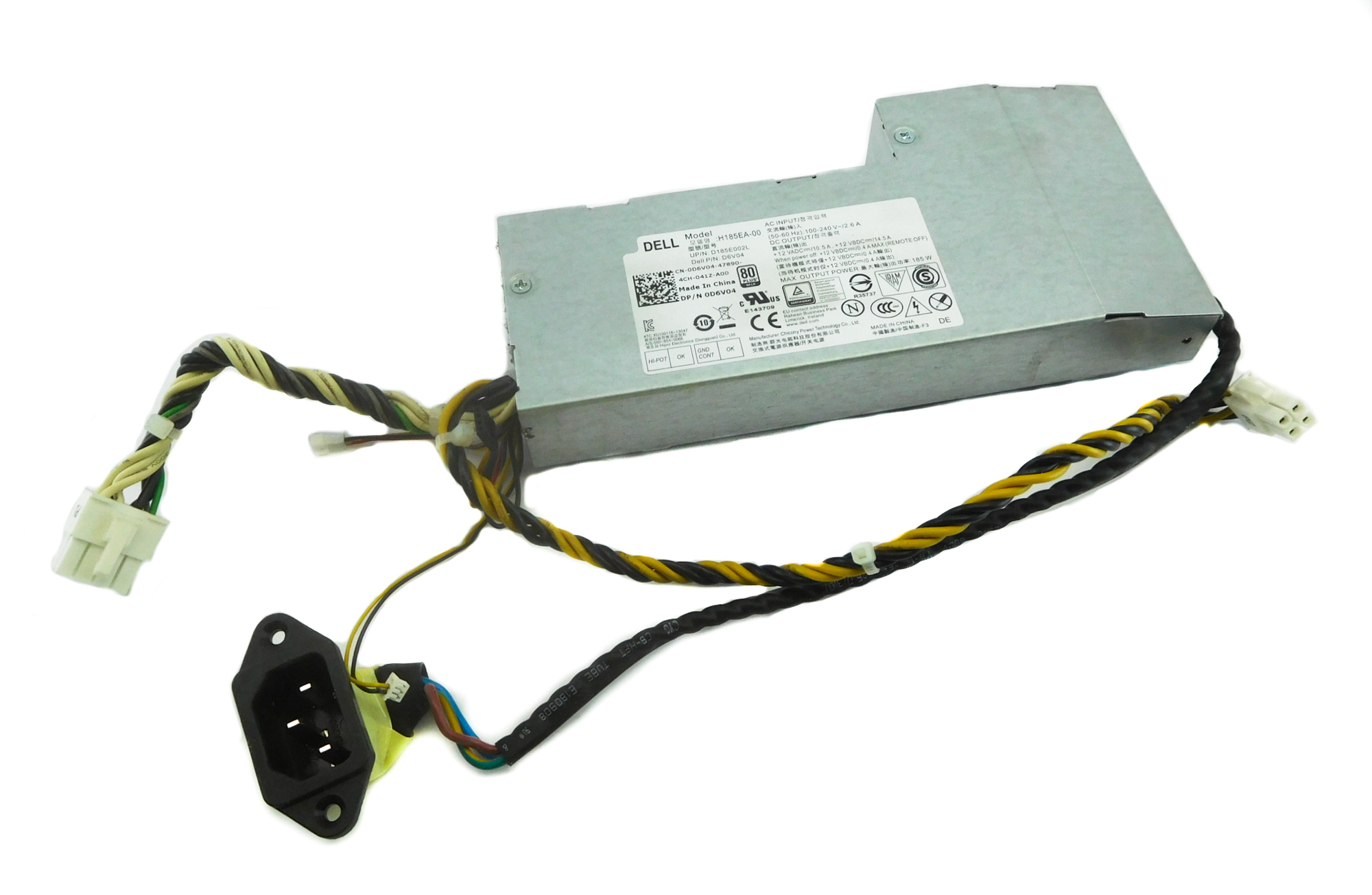 Dell D6V04 OptiPlex 9030 AiO PC 185W Power Supply Unit H185EA